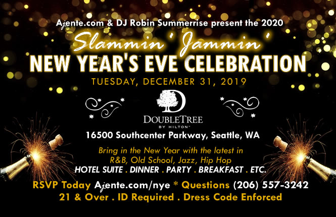 2016 - 2017 New Year's Eve Party @ Doubletree Hotel Southcenter, WA - Seattle/Tacoma